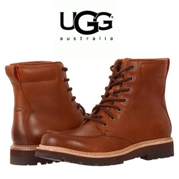 23dc356978d UGG Noxon Waterproof Mens Leather Boots